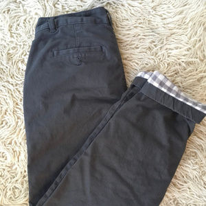 Eddie Bauer Stretch Flannel Lined Pants P0